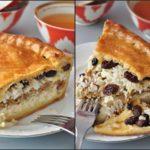 Татарская кухня: Губадия — пирог с мясом.