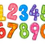 Цифры (счет) на татарском языке